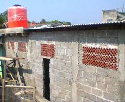Pembangunan Tempat Wudhu dan Toilet Santri MTQ Bina Alquran
