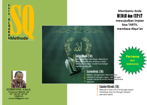 cover buku metode SQ